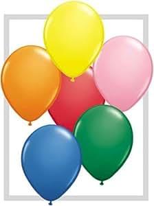 Ballons Assortiment Standard Ballon Taille 5'' (10 cm) Assortiment par 100