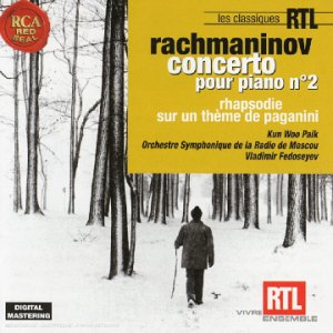 Rachmaninov : Concerto pour piano n° 2 / Rhapsodie sur un thème de Paganini