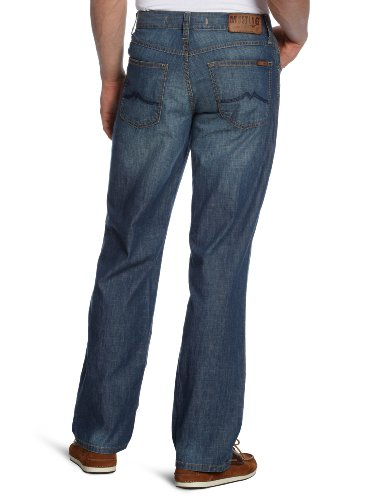 Mustang Jeans - Jean tapered fit - Homme Bleu (Bleach Used 041))