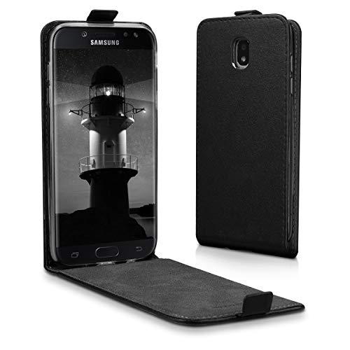 kwmobile Samsung Galaxy J5 (2017) DUOS Hülle - Handyhülle für Samsung Galaxy J5 (2017) DUOS - Handy Case Flip Schutzhülle