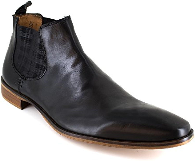 Botin Peter Blade Cuero Negro Flop - Color - Negro, Talla Zapatos - 40