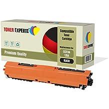TONER EXPERTE® Compatible CE310A 126A Negro Cartucho de Tóner Láser para HP Colour Laserjet CP1025 CP1025nw CP1020 M175a M175nw Pro 100 M175 MFP M175a M175nw M275 TopShot M275