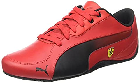 Puma Drift Cat 5 - Chaussures d'Entrainement - Mixte Adulte - Rouge (Rosso Corsa 02) - 44 EU (9.5 UK)