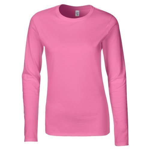 Gildan 64400L Softstyle Womens Ringspun Long Sleeve T-Shirt