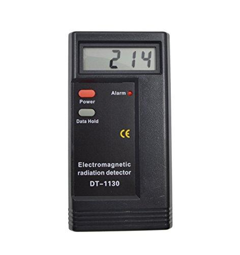 Digital Elektromagnetische Strahlungs Detektor - iParaAiluRy LCD Elektromagnetische Radiometers Indikator DT-1130 Sensor Anzeige, EMF Meter Prüfvorrichtung, Dosimeter Teste (Strahlung Der Frequenz Meter)
