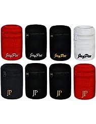 JayPee XL Schweißband mit Fach Tasche und Reißverschluss Sport - Armband / Wristband