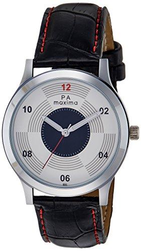 Maxima Analog White Dial Men's Watch - 36594LMGI