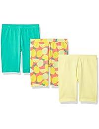Amazon Essentials Girls' 3-Pack Cart-Wheel Short - Shorts Niñas