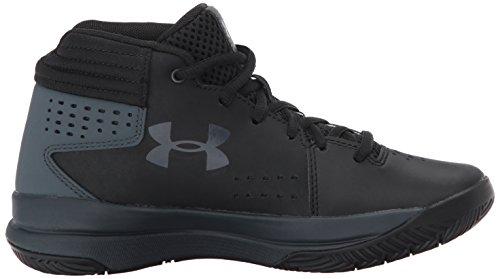 Under Armour Ua Bgs Jet 2017, Chaussures de Basketball Garçon Noir (Black)