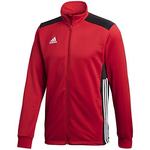 adidas Regi18 PES Jkt Chaqueta, Hombre, Rojo/Negro (Power), M