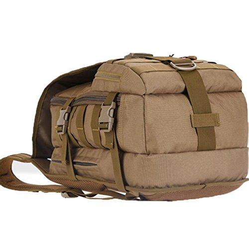 Bergsteigen Taktik Rucksack Outdoor Reise Sport Paket Computer Student Camouflage Bag,ThreeSandCamouflage CPDigital