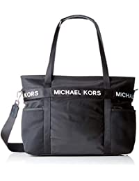 MICHAEL by Michael Kors The Michael Kors Borsa Grande in Nylon - Nero 14e9ab46b9c