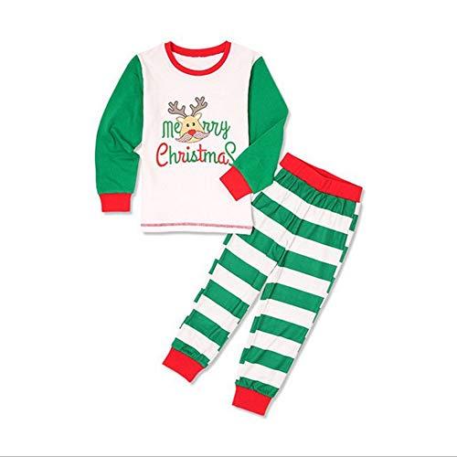 ten Familie passenden Pyjama Rentier Print Top Hosen Nachtwäsche Nachtwäsche Mama-S ()