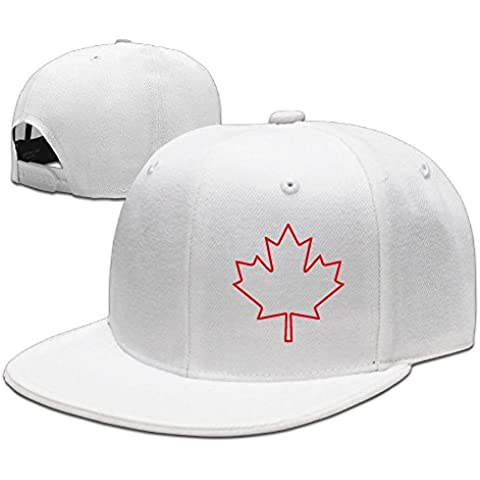 Equipo Canadá hoja de arce canadiense Logo hombre mujer gorra de béisbol negro