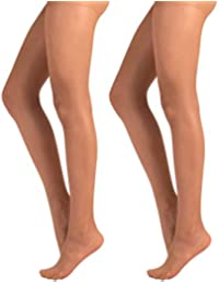 0bbb7bf59039 LOT DE 2 COLLANTS VOILE 40 DEN   COLLANT TRANSPARENT AVEC CULOTTE RENFORCÉE   …