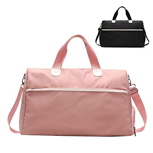 FEDUAN Bolsa Deportiva Mujer Hombre Impermeable Compartimiento