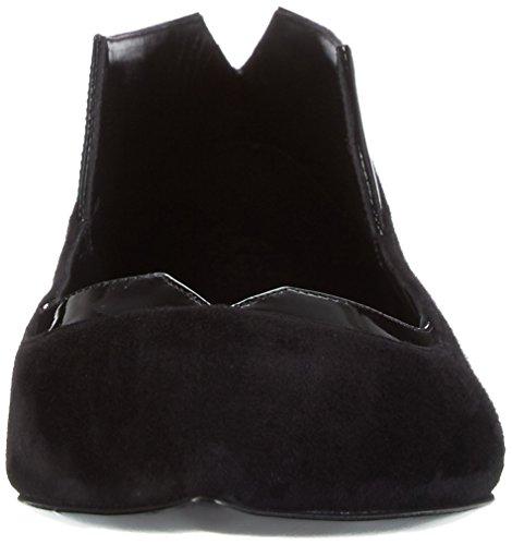 Casadei 1a001e000, Ballerines femme Noir - Schwarz (Black Ooo)