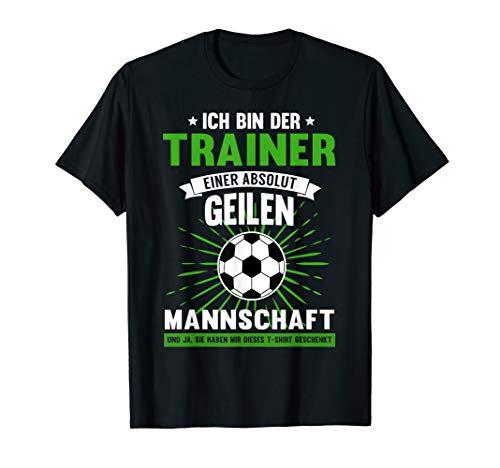 Herren Fussball Trainer Shirt   Lustiges Fussball Coach Geschenk T-Shirt