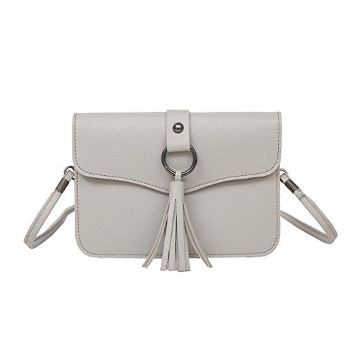 Sie Sporthandtaschen für beiläufige JYJMEinfarbig Freien Messenger Rucksackfrauen Damebeutel im Schultertasche Grau FrauenSmädchen Arbeiten 1dwYUq1
