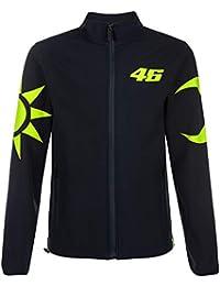 2cc45838c82 VR46 Valentino Rossi SOLELUNA Veste Softshell pour Homme Bleu Tailles  XS-XXXL