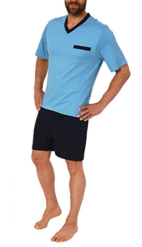 Herren Pflegeoverall kurzam und kurze Hose mit Reissverschluss am Rücken 57687 - 3
