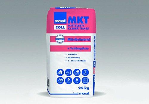 maxit coll MKT - Mittelbettkleber Trass, 25kg