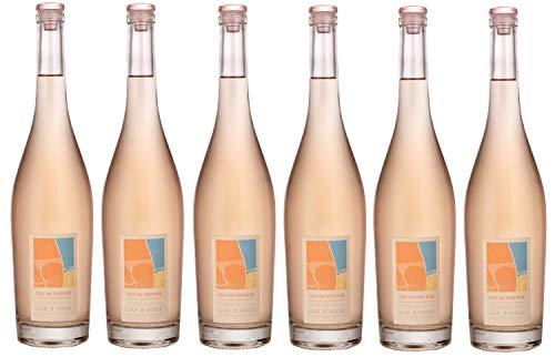 Tout Nu, Tout  Rosé - Vin de l'Eté - Vin  Rosé IGP Côtes de Thau - Lot de 6