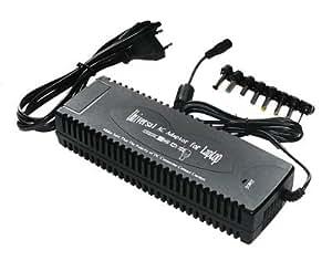 Alimentation Secteur 220V Universelle pour PC PORTABLE - 130W - 15 ? 24V / max 6.5A