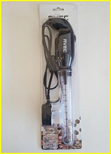Mezclador mano negro extra largo 15cm de largo y extra de energía 25W Eléctrico para griego tomar...