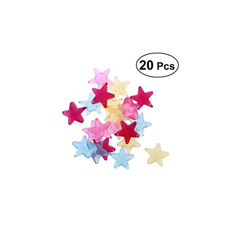 Bestonzon 20 Stck Eiswrfel Dauereiswrfel Wiederverwendbare Eiswrfel Im Stern Design Zufllige Farbe
