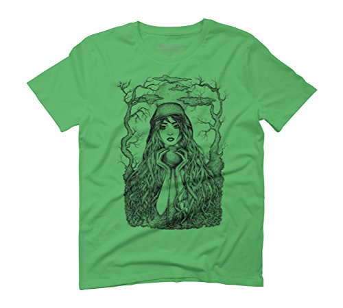 I give my heart to you Men's Graphic T-Shirt - Design By Humans Green