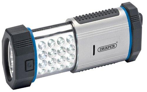Draper 24373 19 led magnetic worklight (3 x aaa batteries).