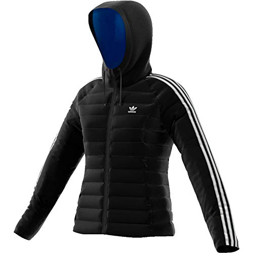 adidas Damen Slim Jacke,  Black, 36 (S)