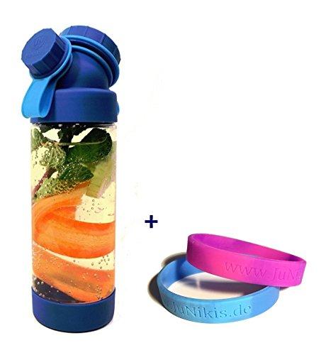 Neuartige Trinkflasche Für Kinder Für Die Schule, Auslaufsicher Bei  Kohlensäure: JuNiki´s Double