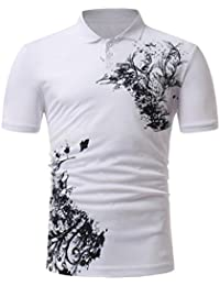 2804213eb71 Polos Hombre Manga Corta Polos Hombre Tallas Grandes Camisetas De Hombre  Estampadas AIMEE7 Camisetas De Hombre