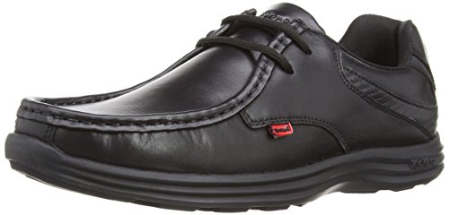 Kickers Reasan Lace, Scarpe Derby Uomo, Nero (Black), 46