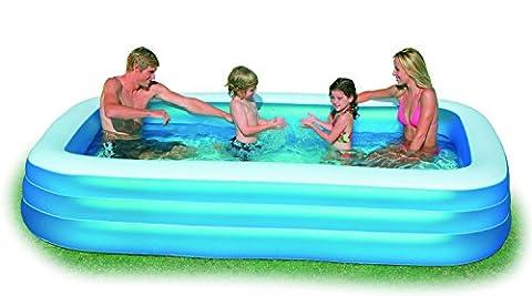 INTEX Swimming Pool Family Swim Center 262 x 175 cm, Grün