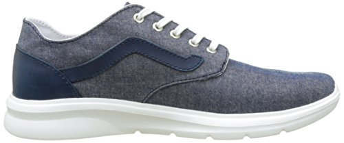 Vans UA ISO 2, Baskets Basses Homme Bleu (C And L Chambray/blue)