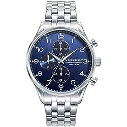 Viceroy 401149-55 Reloj Hombre Cuarzo Multifunción Acero Tamaño 40 mm Brazalete