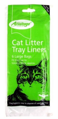 armitage-pet-care-cat-litter-tray-liners-large-6-pack-the-hygienic-way-to-dispose-of-used-cat-litter