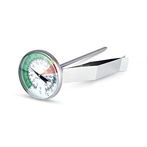 Milk frothing thermometer or coffee thermometer with 45mm dial by ETI