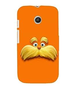 Fuson 3D Designer Mobile Back Case Cover For Motorola Moto E XT1021 / Motorola Moto E