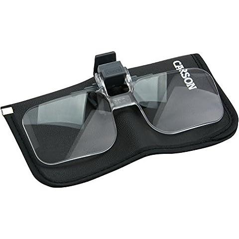 Carson OD-12 - Lentes con pinza para todo tipo de gafas
