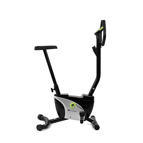 fitkraft Alfa ftktro Cardio Fitness Bike con COMPUTER NERO