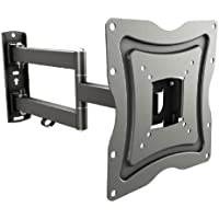 RICOO Supporto TV orientabile inclinabile S2222 staffa per TV monitor televisore piatto parete TV da 33 - 120 cm (13 - 47' pollici) universale supporto TV - Distanza tra i fori/VESA 100x100 | 200x200