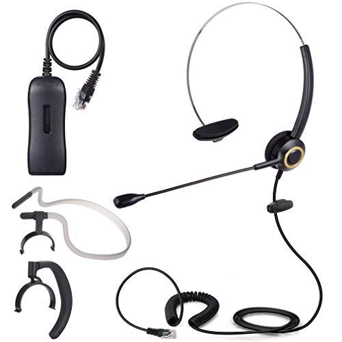 PChero 3 1 Auriculares Teléfono Fijo Monoaurale RJ9