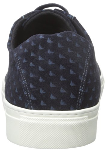 Fashion Armani Sneaker Blue Suede Jeans Printed qWp0O