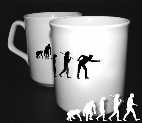 Preisvergleich Produktbild Snooker Billard Kö Evolution BÜROTASSE BUEROTASSE TASSE KAFFETASSE MUG