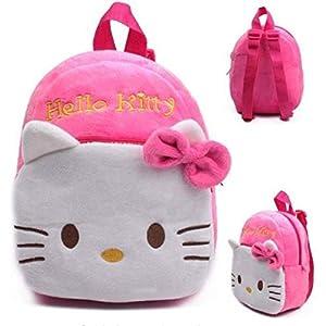 41V3yI275bL. SS300  - Mochila Hello Kitty Personaje Dibujos Animados niños niñas de Peluche de Juguete Mini Bolsa DE LA Escuela Regalos…