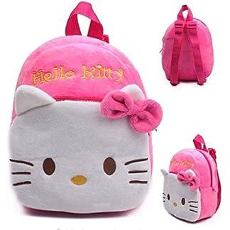 41V3yI275bL. SS324  - Mochila Hello Kitty Personaje Dibujos Animados niños niñas de Peluche de Juguete Mini Bolsa DE LA Escuela Regalos guarderia Bebe